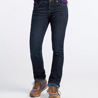 Women's L.L.Bean Performance Stretch Jeans, Lined | Free Shipping at L.L.Bean.