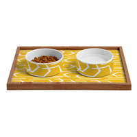 Heather Dutton Going Places Sunkissed Pet Bowl and Tray
