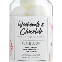 Weekends & Chocolate Tea Blush Bath Fizzies | Nordstrom