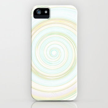 Re-Created Spin Painting No. 12 iPhone & iPod Case by Robert Lee