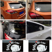 Car Stickers (Baby in Car)