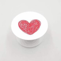 Heart generic Pop socket style Round Expanding Phone Holder