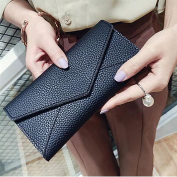 2017 New Famous Brand Designer Luxury Long Walet Women Wallets Female Bag Ladies Money Coin Women Purse Carteras Cuzdan