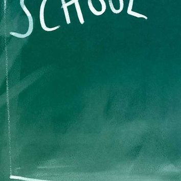 SCHOOL CHALKBOARD VINYL BACKDROP - 3X4 - LCBDBANDING7767 - LAST CALL - SLIGHT BANDING
