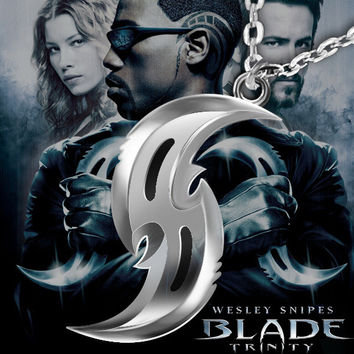 Blade Necklace Stainless Steel Pendant Necklaces For Men