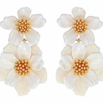 Kate Spade New York Floral Mosaic Drop Earrings