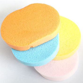 Beauty Hot Deal On Sale Hot Sale Make-up Tool Professional Thicken Sea Face-wash Sponge Powder Puff [6533827079]
