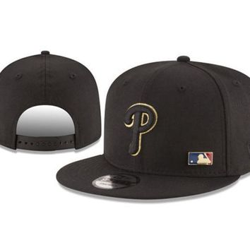 New Arrival New Era Black Cap MLB Baseball Fitted Hat-8