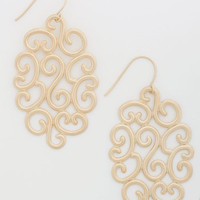 ModCloth Boho Forever Flourishing Earrings