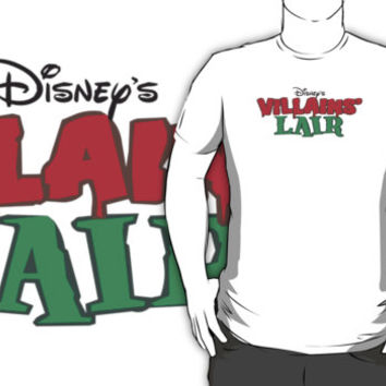 #sc Disney's Villains Liar white t-shirt