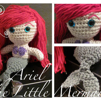 Ariel  The Little Mermaid by AthenasMuse on Etsy