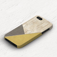 Winter iPhone 5c case Wood iPhone 4 case Plastic iPhone 4s case Wood iPhone 5 case Winter iPhone 5s case Geometric Yellow Brown Mustard c100