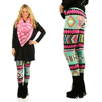 Be Bold Patterned Leggings