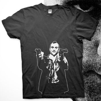 Taxi Driver - High Quality Screen Printed T Shirt - Travis Bickle Robert DeNiro