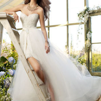 Bridal Gowns, Wedding Dresses by Tara Keely - Style tk2210