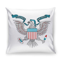 United We Party Throw Pillow