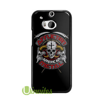 Affliction American Customs Metal Log  Phone Cases for iPhone 4/4s, 5/5s, 5c, 6, 6 plus, Samsung Galaxy S3, S4, S5, S6, iPod 4, 5, HTC One M7, HTC One M8, HTC One X