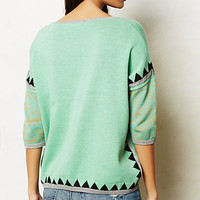 Shimmered Swing Sweater