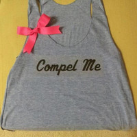 The Vampire Diaries Inspired Compel Me Racerback Tank