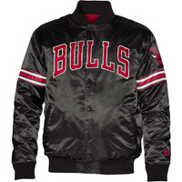 Chicago Bulls NBA Starter Satin Snap Jacket