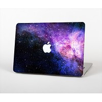 The Vibrant Purple and Blue Nebula Skin Set for the Apple MacBook Pro 15""