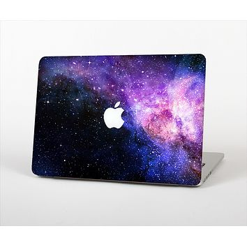 The Vibrant Purple and Blue Nebula Skin Set for the Apple MacBook Air 11""