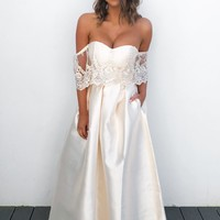 First Look Dress: Ivory