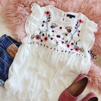 Flower Moon Top