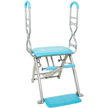 Pilates PRO Chair Max with Sculpting Handles by Life's a Beach with 6 dvds