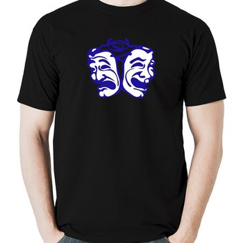 Theatre mask drama men's t shirt tragedy comedy