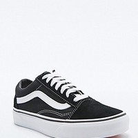 Vans Old Skool Black Suede Trainers - Urban Outfitters