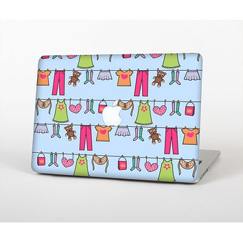 """The Neon Clothes Line Pattern Skin for the Apple MacBook Air 13"""""""