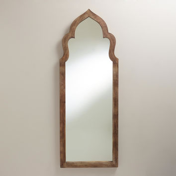 Gray Sahar Arch Mirror - World Market