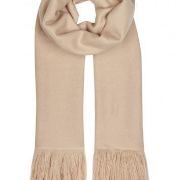 Isabel Marant Carlyn sand cashmere scarf