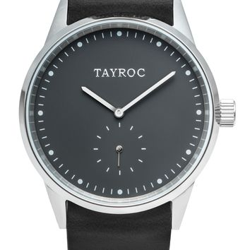 TXM083 - Black Leather NATO