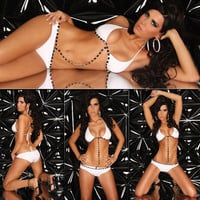 Fantastic White Lycra Bra and Panty Set [TML0153] - $20.00 : Zentai, Sexy Lingerie, Zentai Suit, Chemise