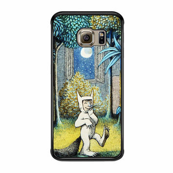 Where The Wild Things Are 1 Samsung Galaxy S6 Edge Case