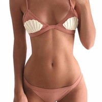 Sea Stella Seashell Brazilian Bikini Set
