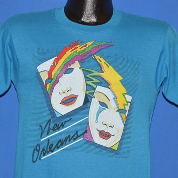 80s New Orleans French Quarter Mardi Gras t-shirt Small