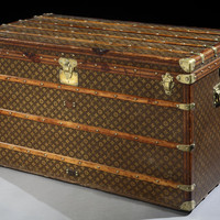Original large 'Haute Courier' trunk by Louis Vuitton, 1920