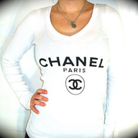 Utopia Apparel CHANEL Raw Wash Long Shirt In by UtopiaApparel