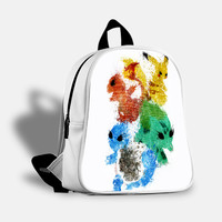 iOffer: Pikachu Painting Pokemon Backpack Travel Bags School for sale