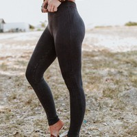 Moto Knee Legging - Black