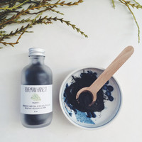 JAPANESE CHARCOAL + KELP + clay // organic detoxifying face mask