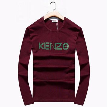 ESBY5M - Brand:KENZO- Gender: Unisex-Color:Burgundy,Black,Blue,- Season: Spring Autumn Winter- Style: Sport Casual- Material: Cotton
