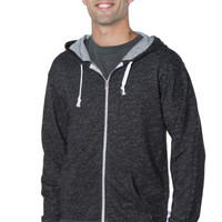 Clooney- Men's Unisex Fleece Zip Hoodie