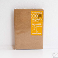 TRAVELER'S Company Passport 010 Kraft File