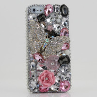 Bling iphone 5 case Luxury 3D Swarovski Crystal Diamond by Bxbe