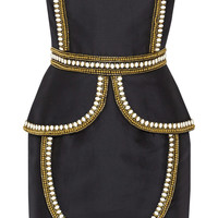 Sass & bide - The Cold Snap embellished cotton and silk-blend dress