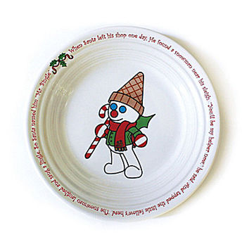 Fiesta Mr. Bingle Luncheon Plate